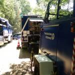 Einsatzstelle Homburger Bergrennen